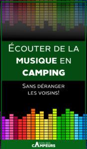 Écouter de la musique en camping