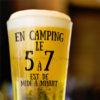 En camping, le 5 à 7 est de midi à minuit