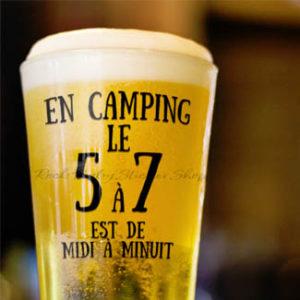Décalque 5 à 7 en camping
