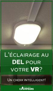 L'éclairage au DEL pour votre VR, un choix intelligent!