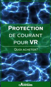 Parlons protection de courant pour VR!