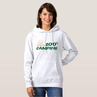 Pull à Capuche 100% Camping