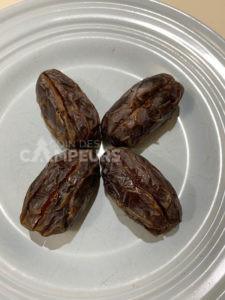 Dattes amandes et chocolat - étape 3